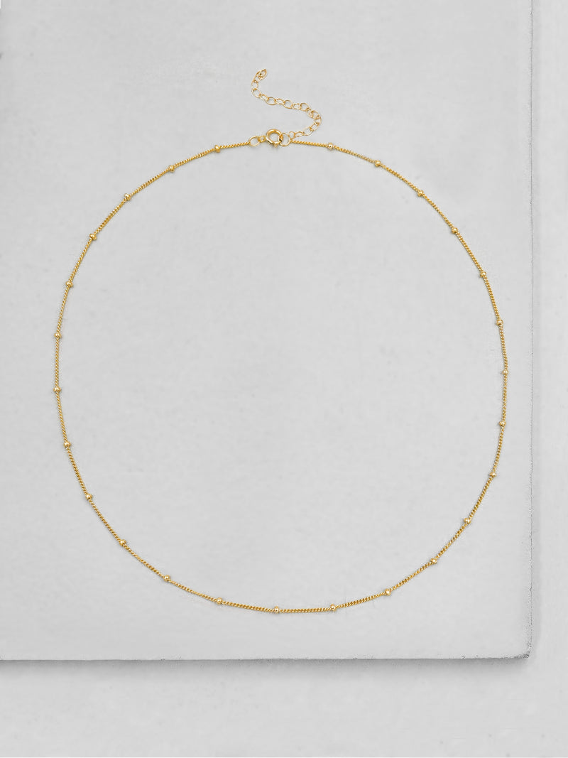 Beaded Chain - Gold