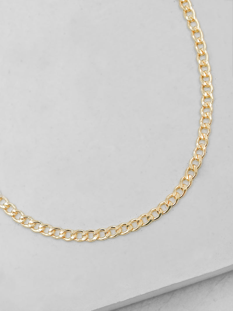 Cuban Link Chain Necklace  by The Faint Hearted Jewelry
