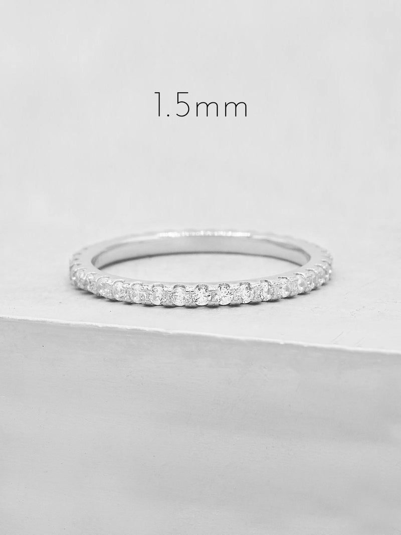 Full Eternity Band - Silver