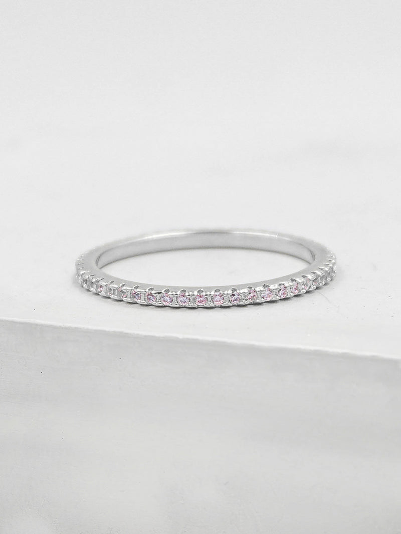 Eternity Ring - Light Pink
