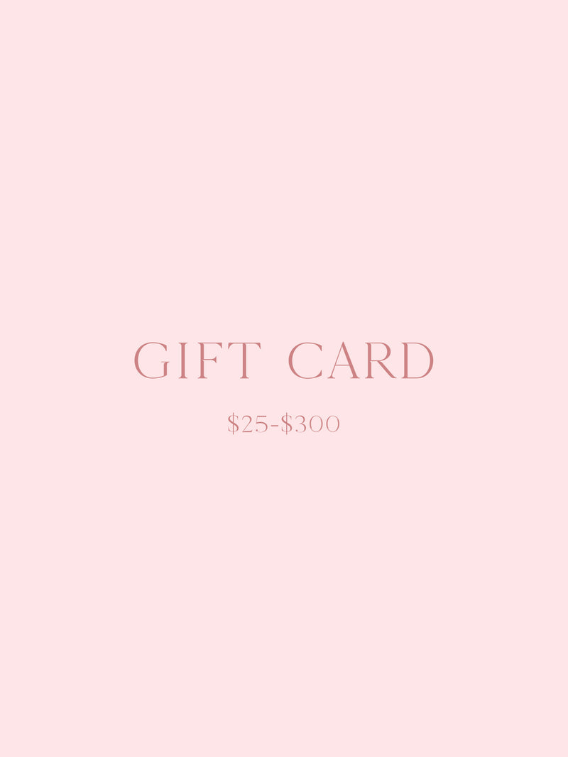 The Faint Hearted Gift Card