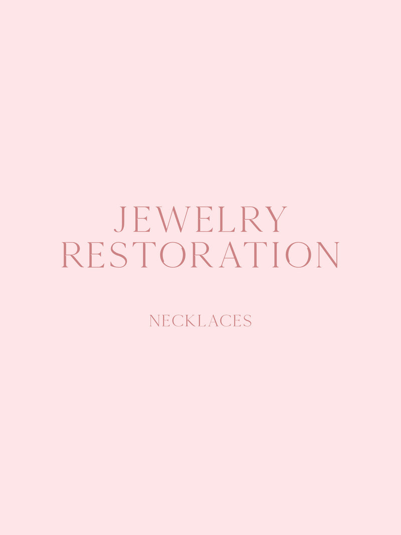 Jewelry Restoration - Necklaces