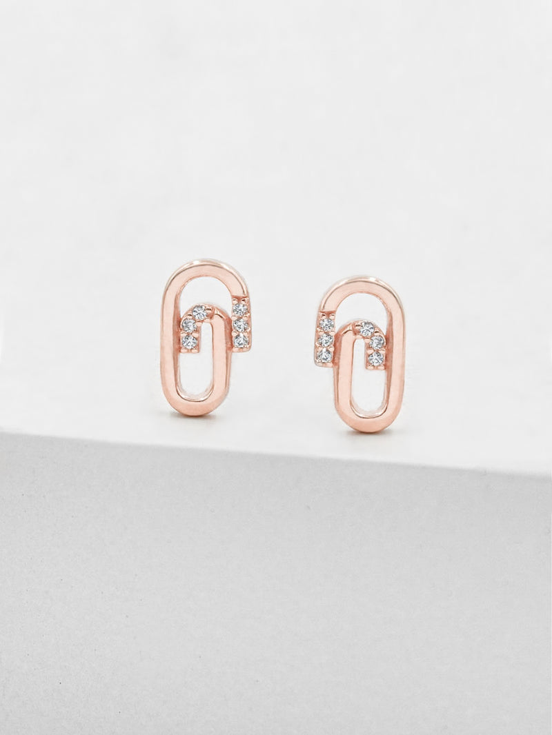 Paperclip Studs