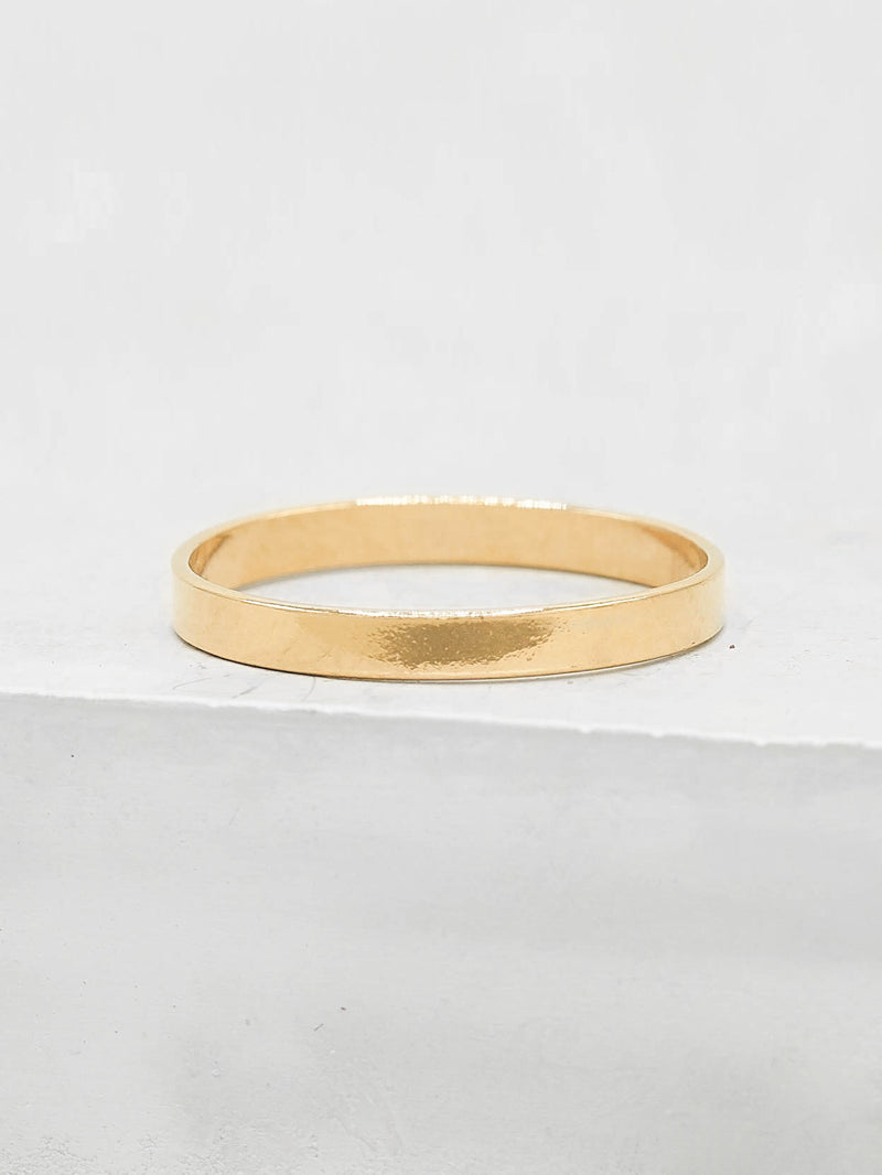 2mm Stacker Gold Filled ring by The Faint Hearted Jewelry
