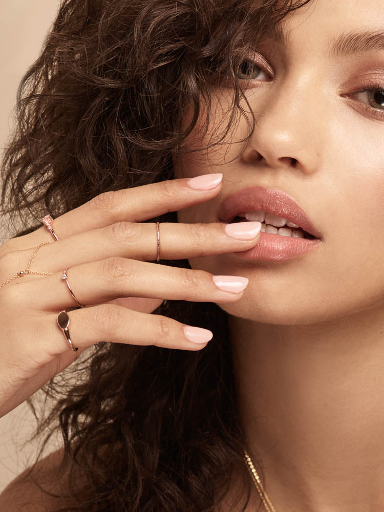 Stacking Dainty Delicate Ring by The Faint Hearted Jewelry