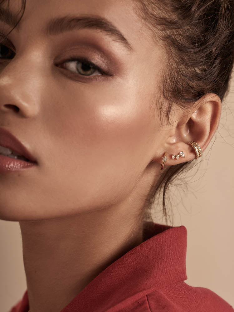 Gold Ear Cuffs by The Faint Hearted Jewelry