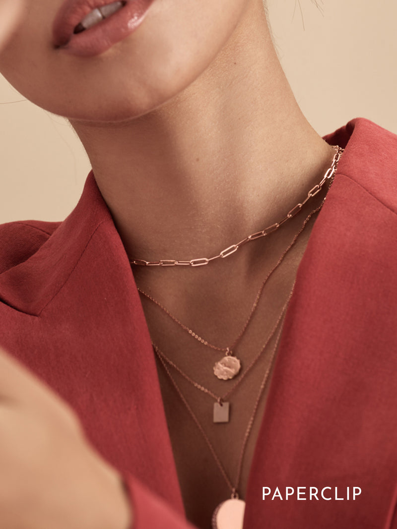 Choker Necklace - Rose Gold