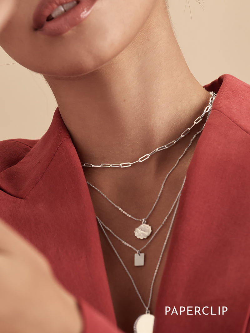 Choker Necklace - Silver
