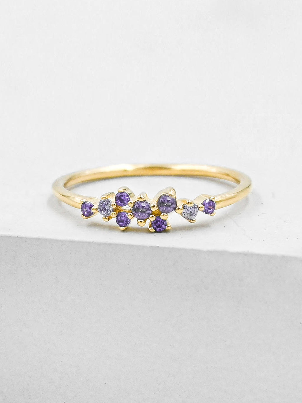 Twilight Ring - Gold + Purple