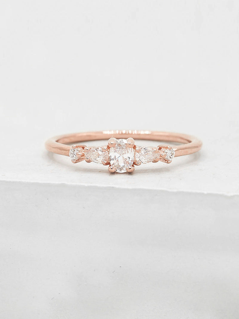 Vintage Ring - Rose Gold