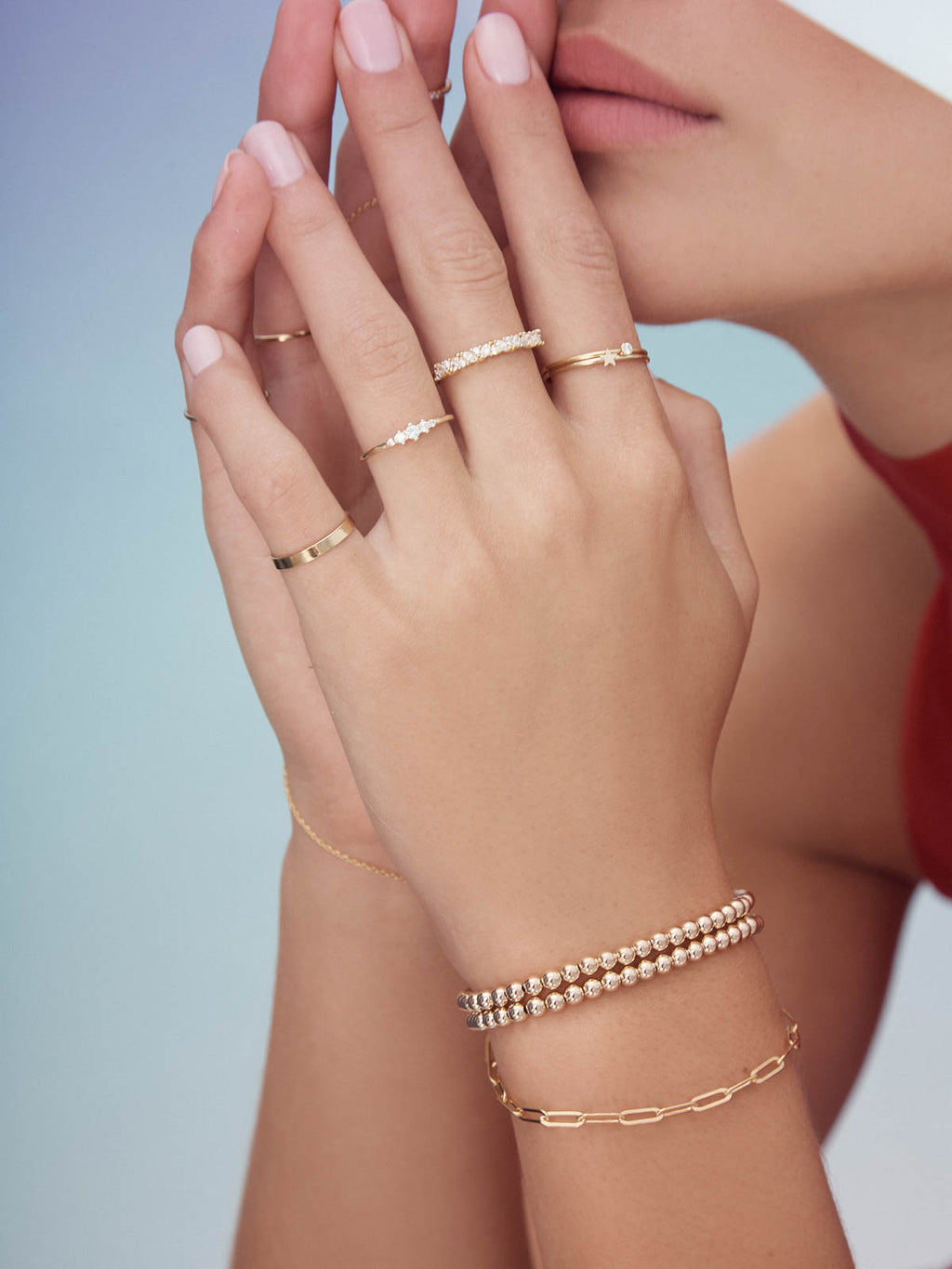 Paperclip Bracelet - Gold Filled