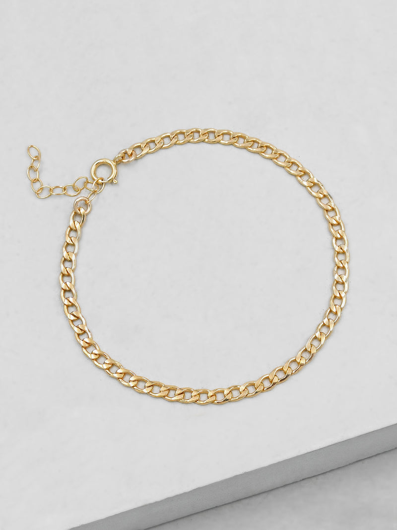 Cuban Link Bracelet - Gold Filled