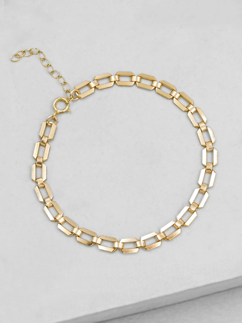Geo Bracelet - Gold Filled