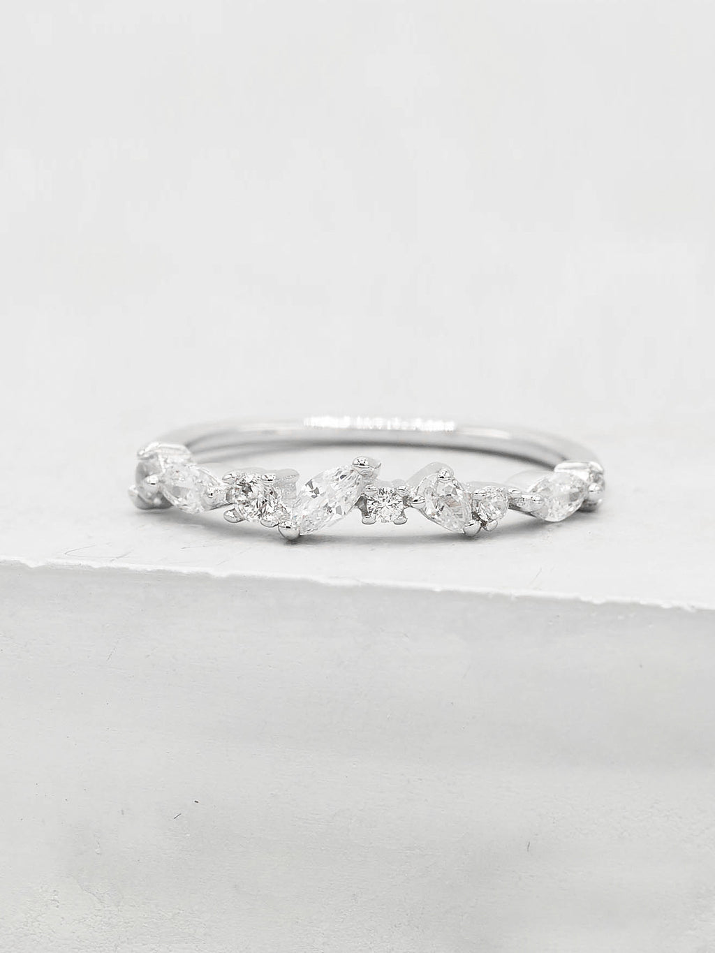 Cluster Ring - Silver