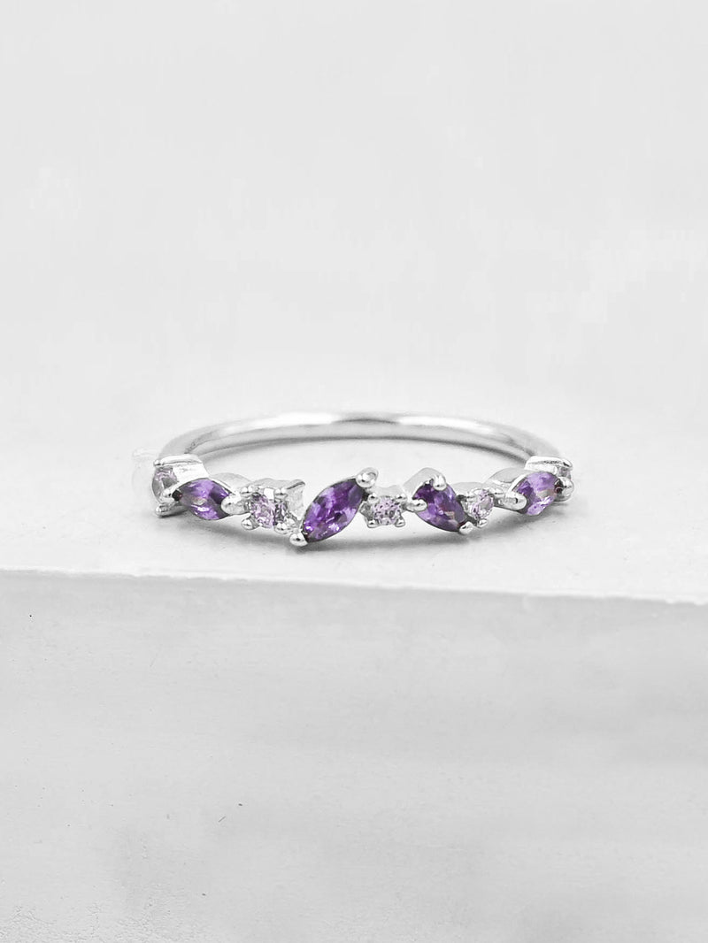 Cluster Ring - Purple