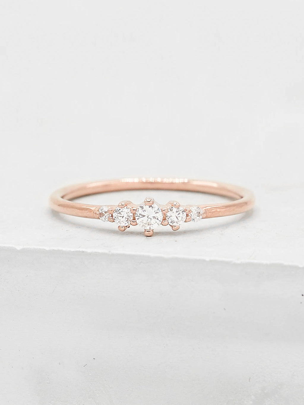 Crown Ring - Rose Gold