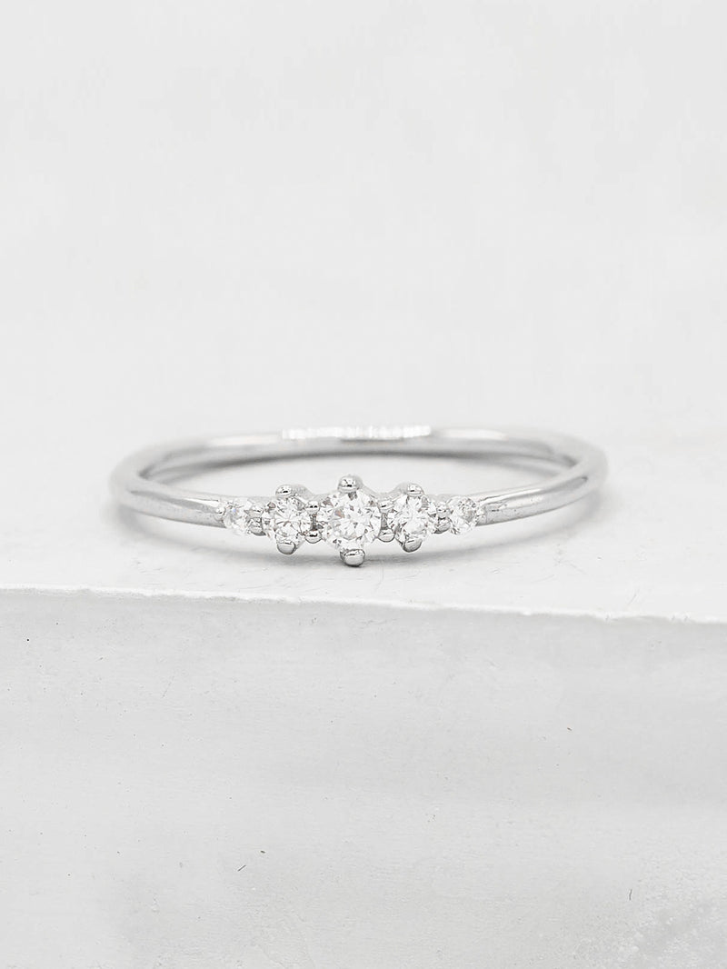 Crown Ring - Silver