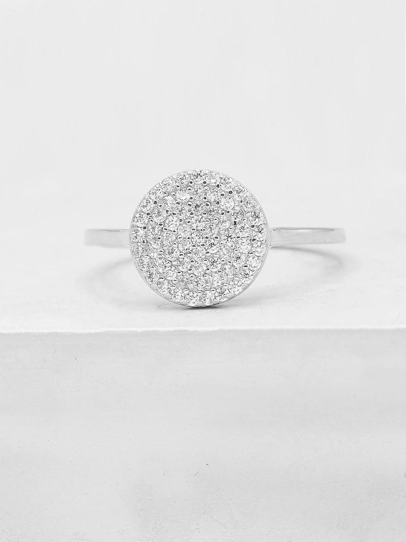 Disc Ring - Silver