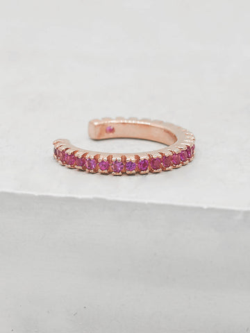 Mini Bezel Eternity Band - Gold