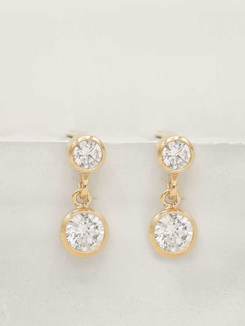 Drop Earrings - Gold Filled