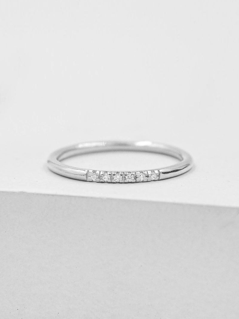 Petite Stacking Ring - Silver