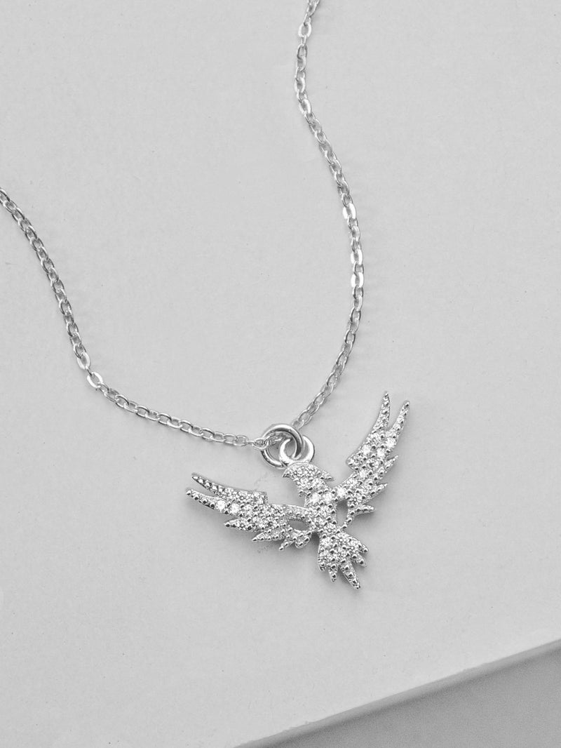Phoenix Necklace - Silver