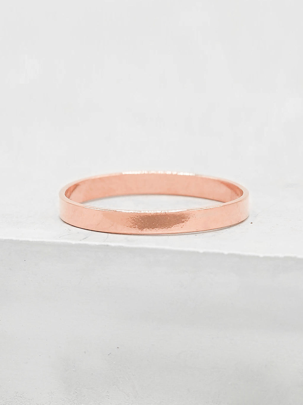 Rose Gold Filled Stacking Band by The Faint Hearted Jewelry