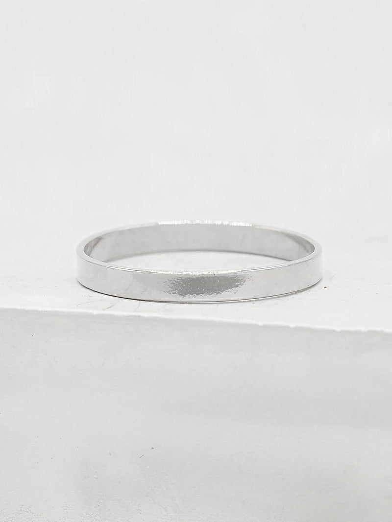 Sterling Silver 2mm Stacker Band by The Faint Hearted Jewelry