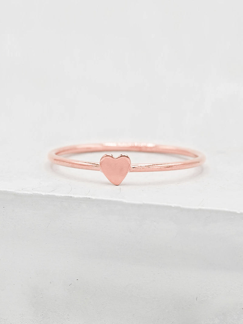 Heart Stacker - Rose Gold Filled