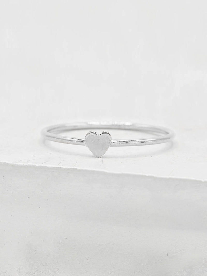 Heart Stacker - Sterling Silver