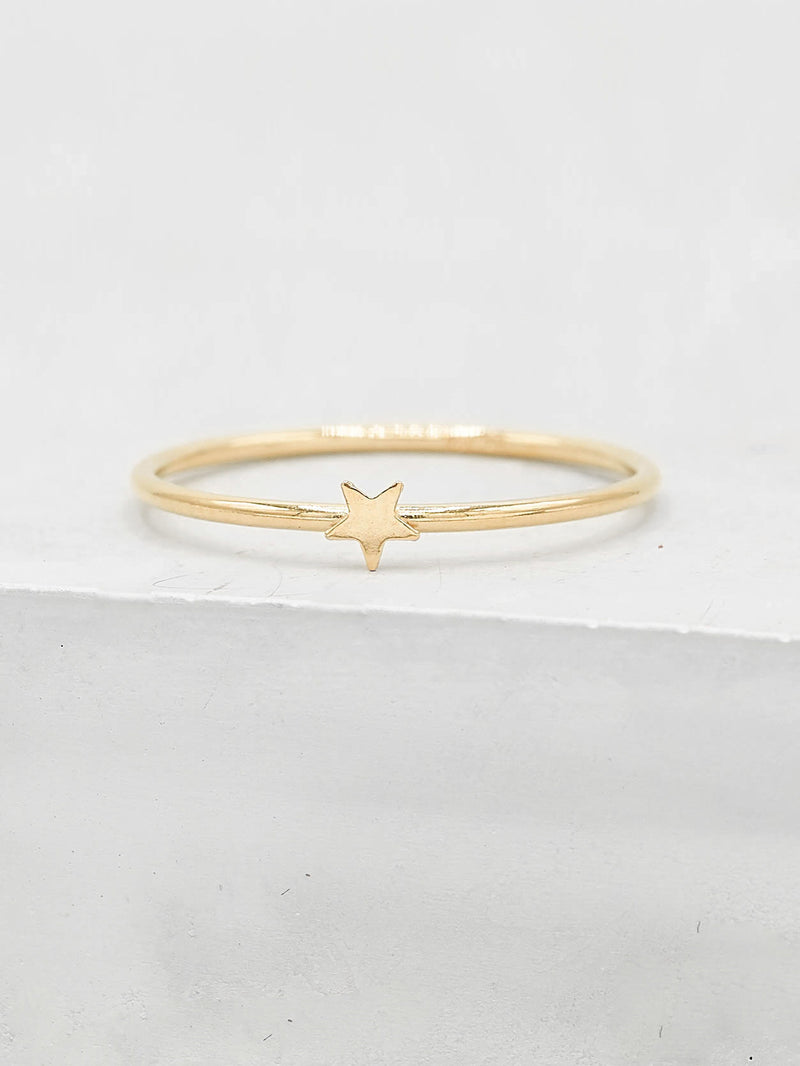 Star Stacker - Gold Filled