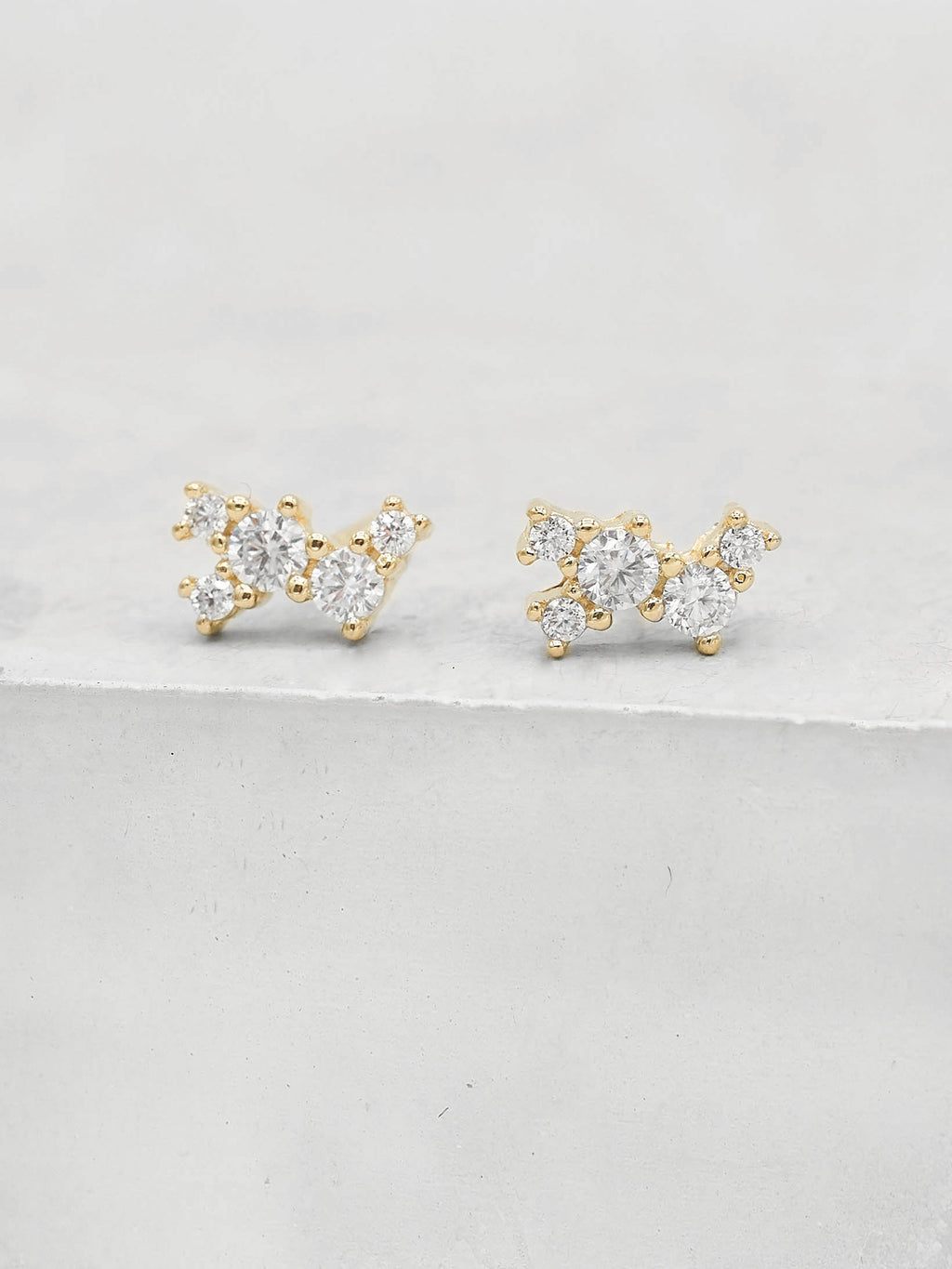 Twilight Studs -  Gold
