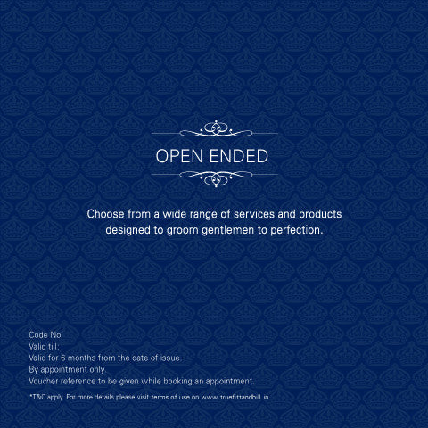 Open Ended Gift Voucher