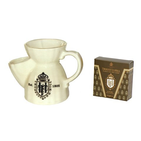 Cream Shaving Mug - Truefitt & Hill India