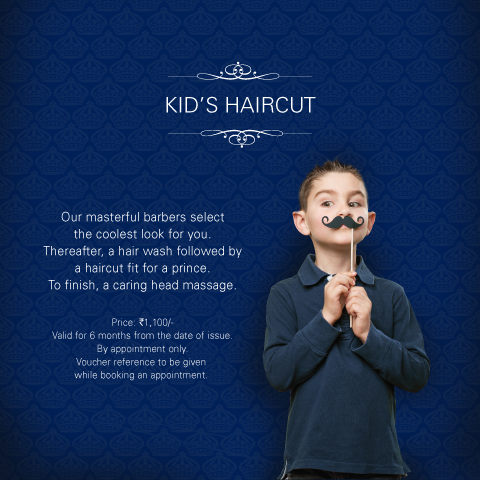 Truefitt & Hill India - Buy Kid's Haircut Voucher Online