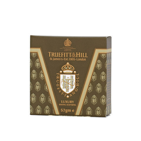 """Truefitt & Hill India Shaving Products - Buy  Luxury Shaving Soap Refill for Bowl  Online"""