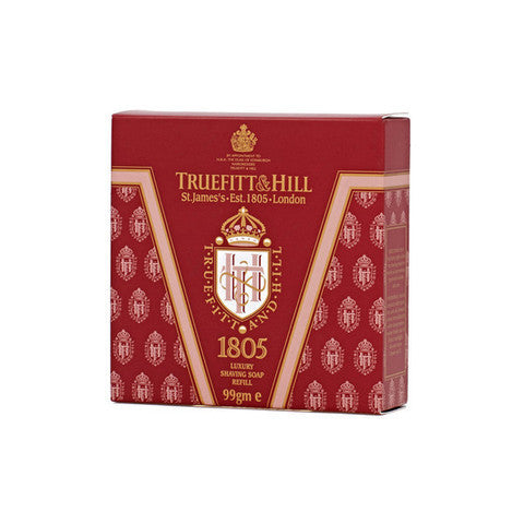 Truefitt & Hill India Shaving Products - Buy 1805 Luxury Shaving Soap Refill Online