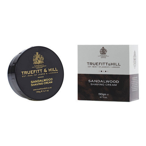 Truefitt & Hill India Shaving Products - Buy New Sandalwood Shaving Cream Bowl Online