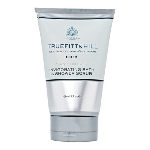 Truefitt & Hill India Skin Care Products - Buy Skin Control Invigorating Bath & Shower Scrub Tube Online