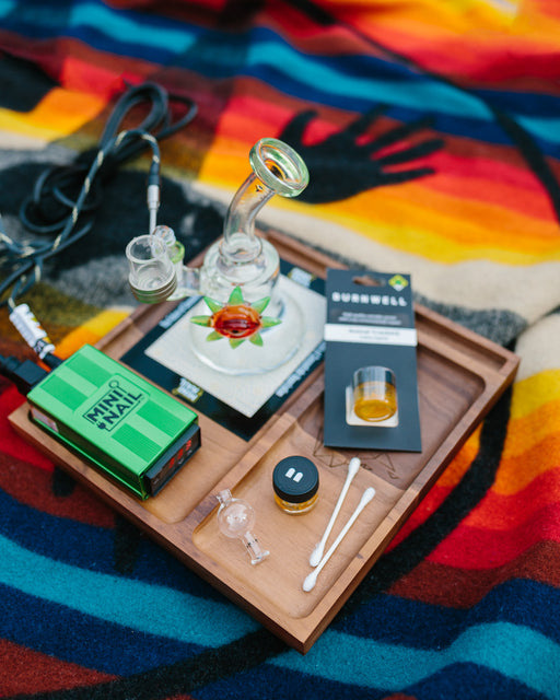 The essentials for a home eNail dabbing kit