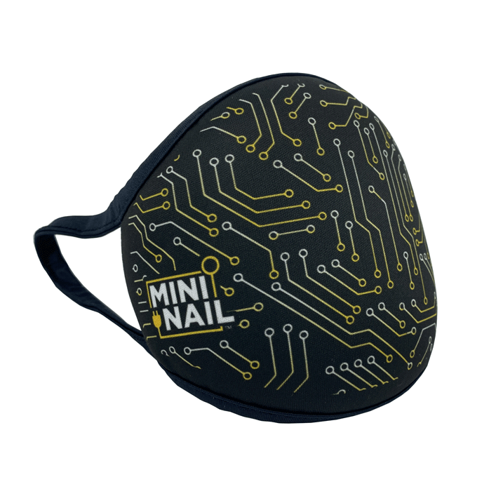 MiniNail Circuit Face Mask