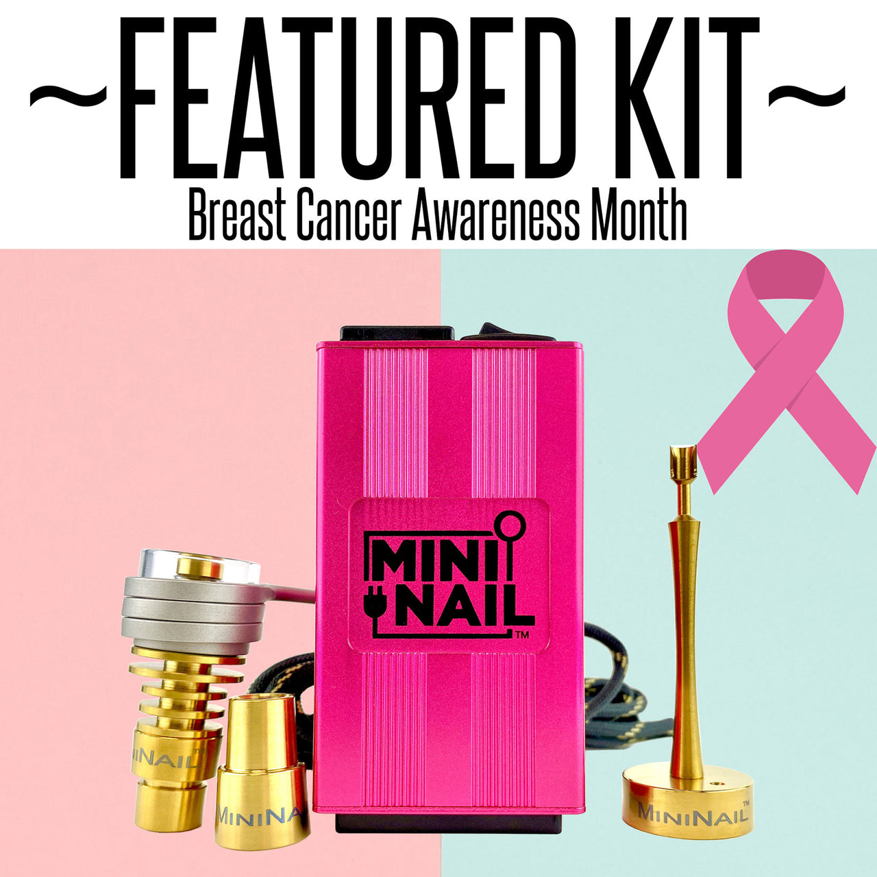 Featured Kit: Pink Quartz Hybrid Complete Enail Set