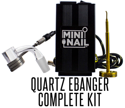 MiniNail™ 20mm Quartz Ebanger Kit