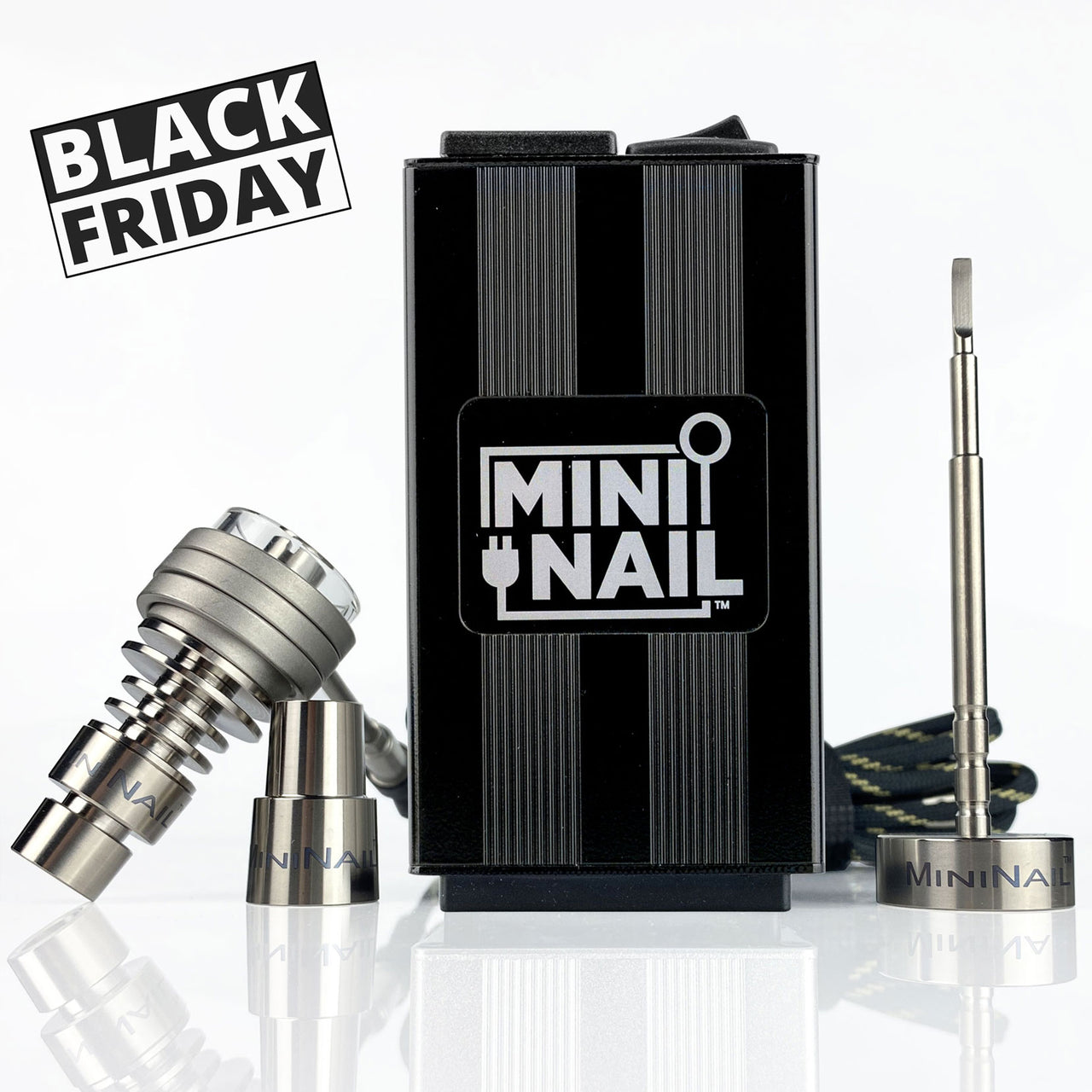 Black Friday Quartz Hybrid DeepDish Complete Enail Kit