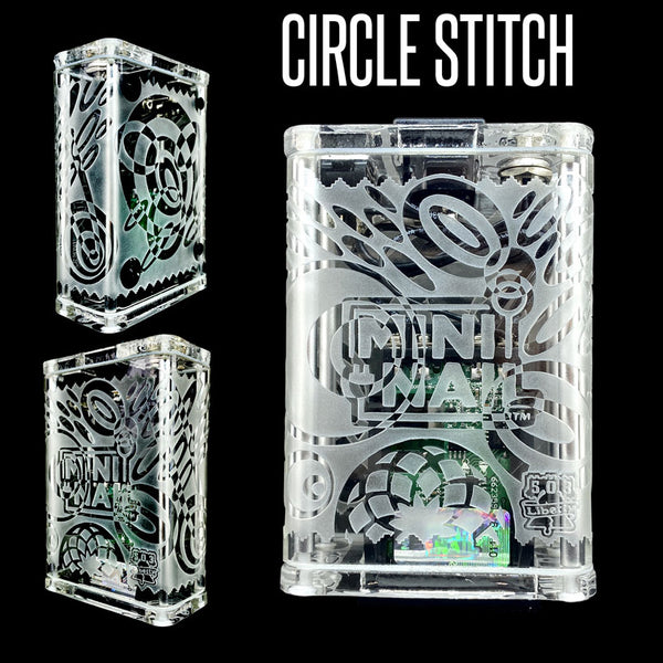 CIRCLE STITCH GLASS ENAIL COMPLETE SET WITH CASE (LIMITED EDITION)