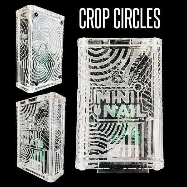 CROP CIRCLE GLASS ENAIL COMPLETE SET WITH CASE (LIMITED EDITION)