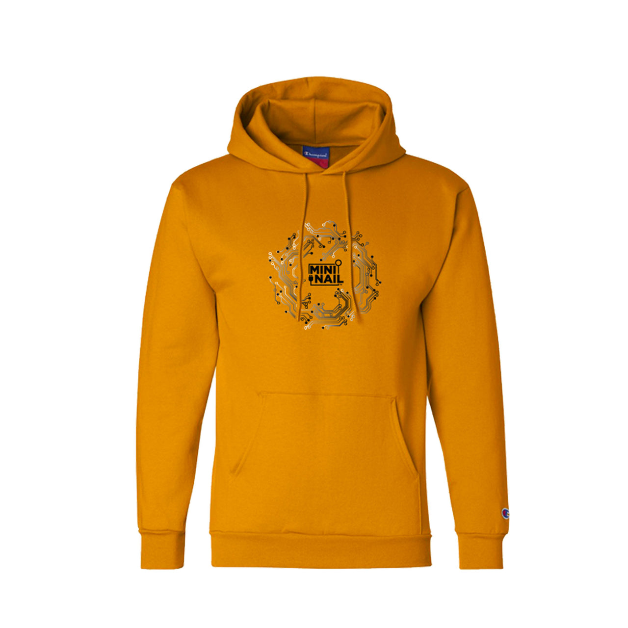 CYBER CIRCUIT HOODIE (GOLD)
