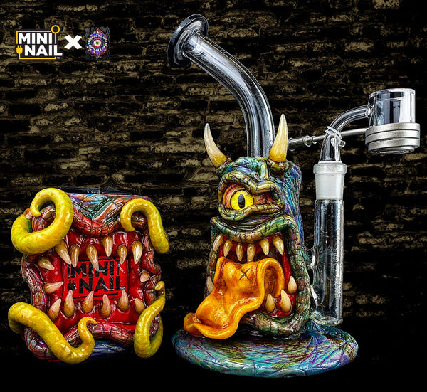 MiniNail x Moldy.Creations Custom E-Nail Set #MC02