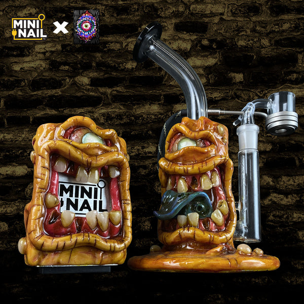 MiniNail x Moldy.Creations Custom E-Nail Set #MC21