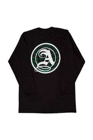 Globe Logo Long Sleeve Tee